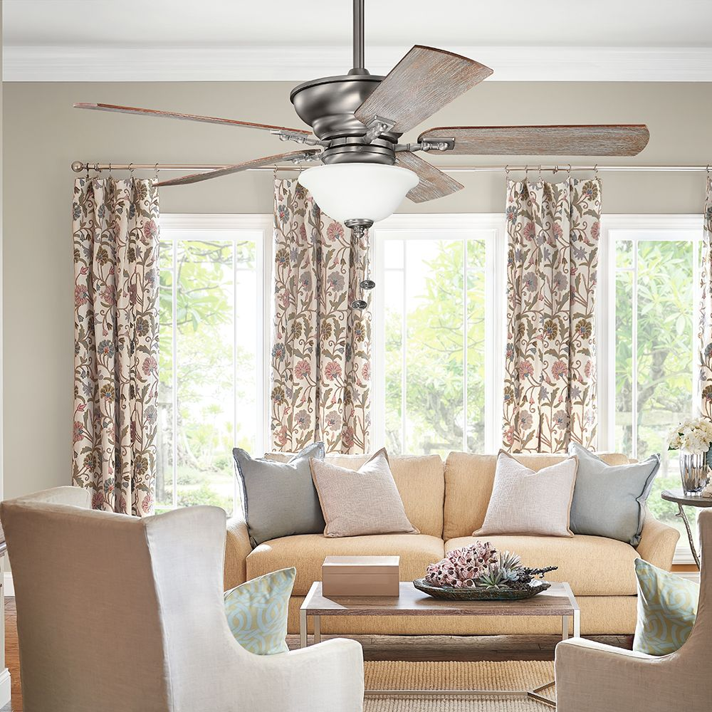 Kichler Graystone Ceiling Fan 300243BAP Living Room Lighting