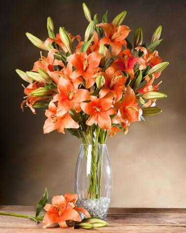 Day Lily Silk Flower Stem