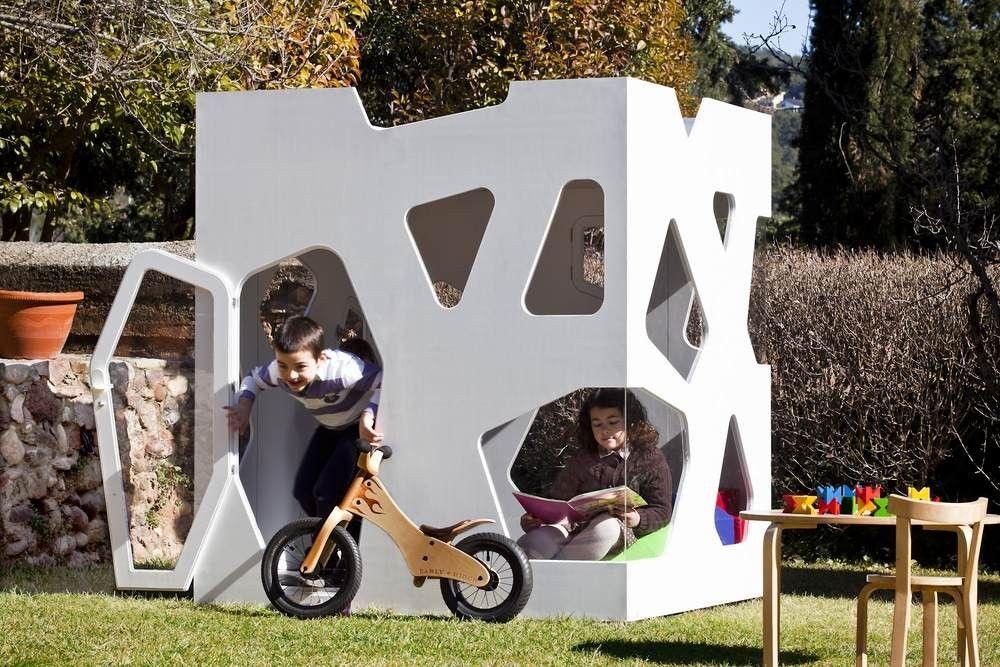 casa de madera para niños kyoto junior CASITA KIDS Pinterest