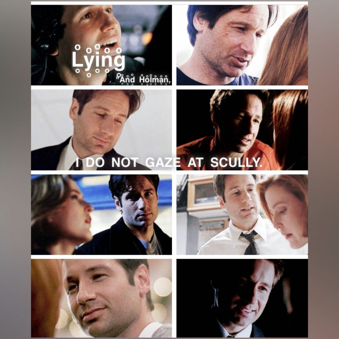 """X files-- Quote: """"Rain King"""" We all knew he was lying."""