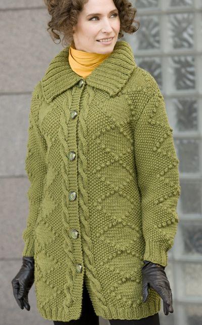 Pin de Pawanpreet Kaur en yarn & needles | Pinterest | Abrigos para ...