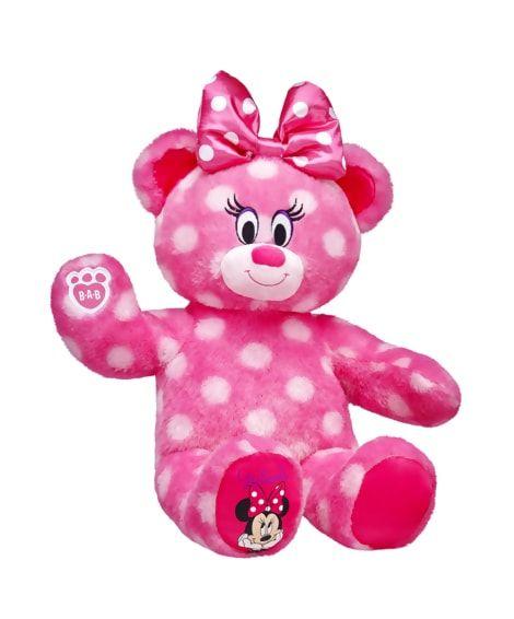 Disney Minnie Mouse Inspired Bear Build A Bear Build A Bear