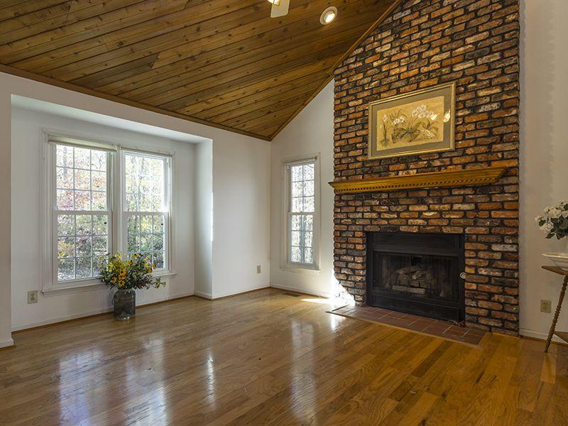 Greensboro Realtor Brick Fireplace Fireplace Brick