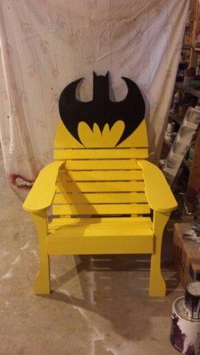 Wooden Batman Chair | Batman | Pinterest | Batman Chair, Batman And Pallets Amazing Pictures