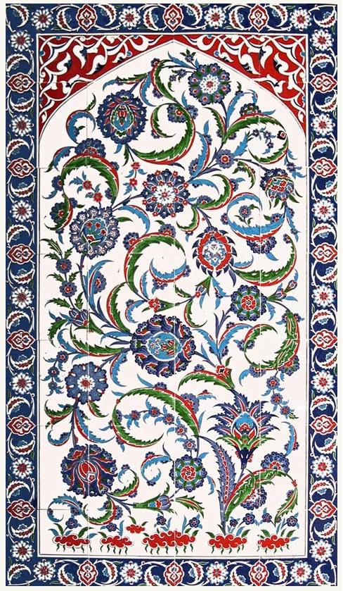 Traditional Iznik Tile Art Shopturkey Com Ancient World Art