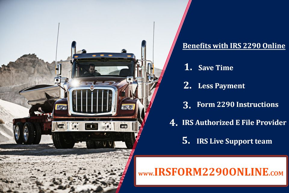 2290 form truck  IRS 17 form 17 Electronic Filing with #irsform17online ...
