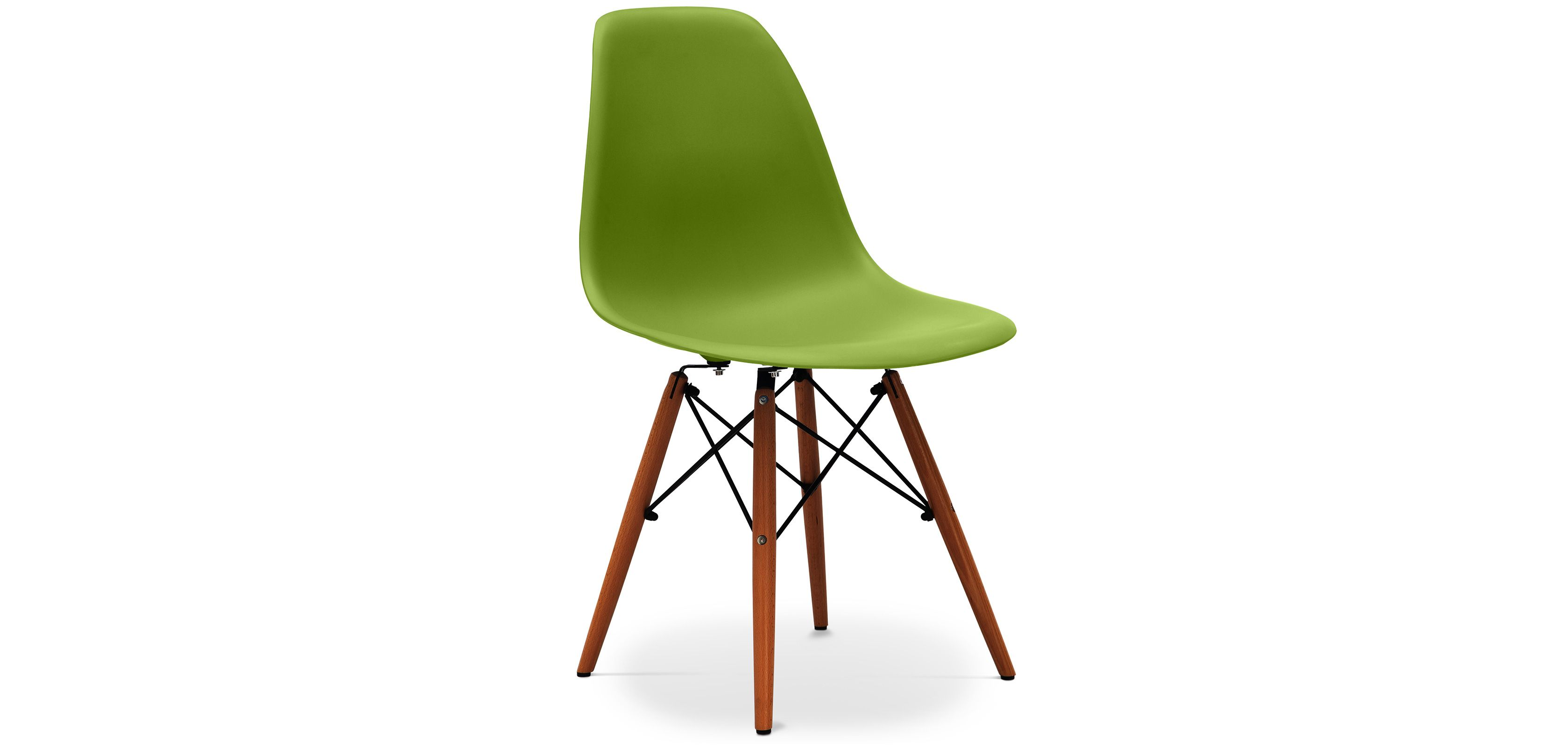 Chaise Dsw Pietement Fonce Charles Eames Style Polypropylene Matt Dsw Chair Chair Eames Chair