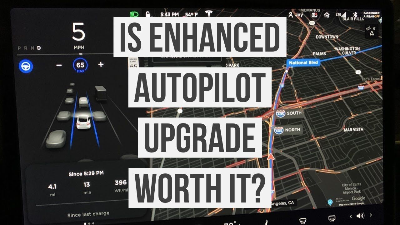 Is Tesla Enhanced Autopilot Worth The Upgrade Model 3 6 Month Review Tesla Enhancement Self Driving