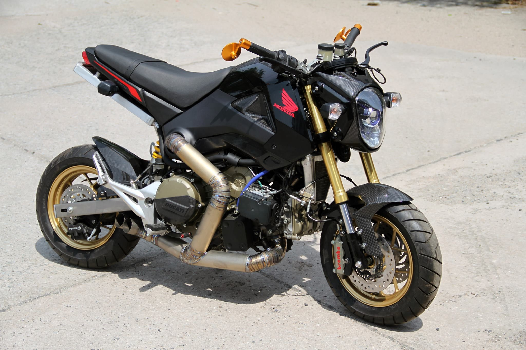 Honda Grom 205 Horsepower = HOOLIGAN Bike – How do you know when