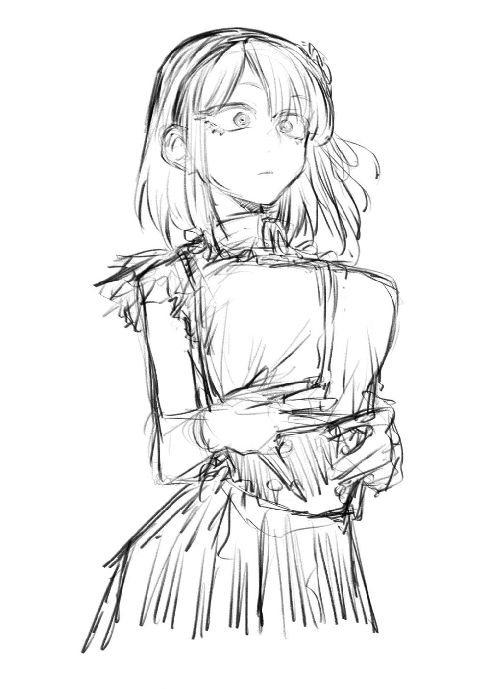 コトヤマ on twitter らくがき https t co 60rlucdz4j twitter anime character design anime drawings tutorials anime art girl