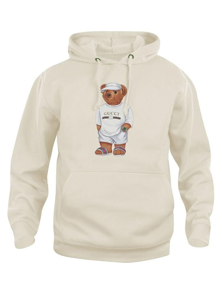 f05c36ea87a Calvin The Bear - Creme Jilly Hoodie