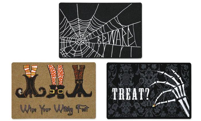 Spooky Halloween Doormats | Groupon