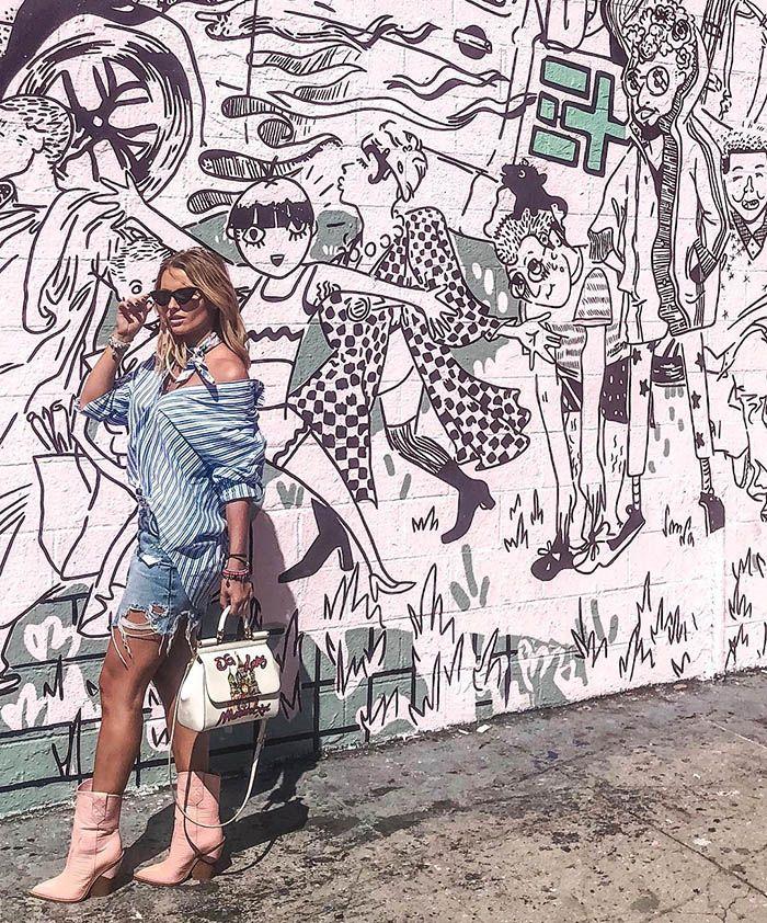 Irina Baeva y las 10 bolsas más lujosas en su colección