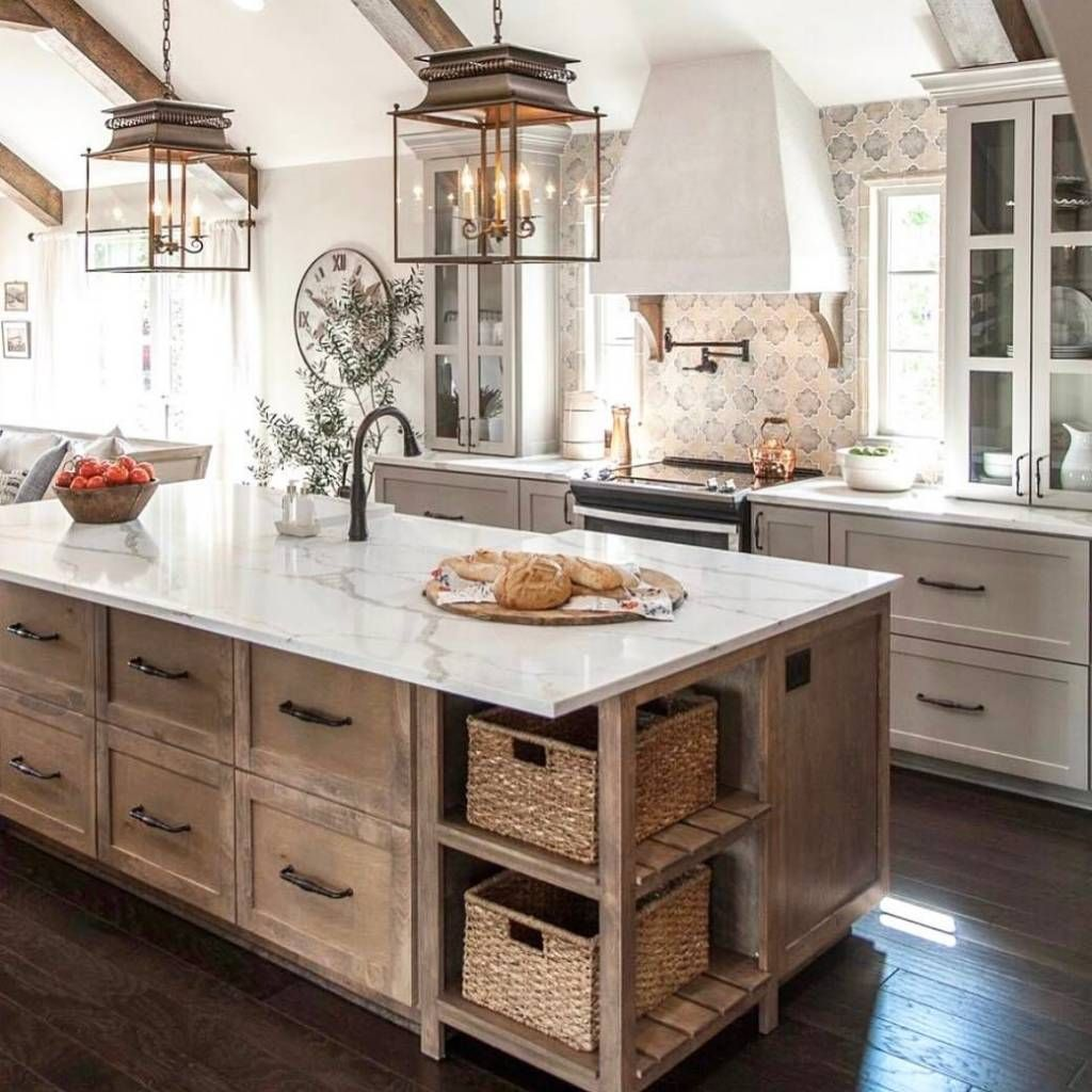14 Rustic Kitchen Island Ideas Keeping it Earthy and