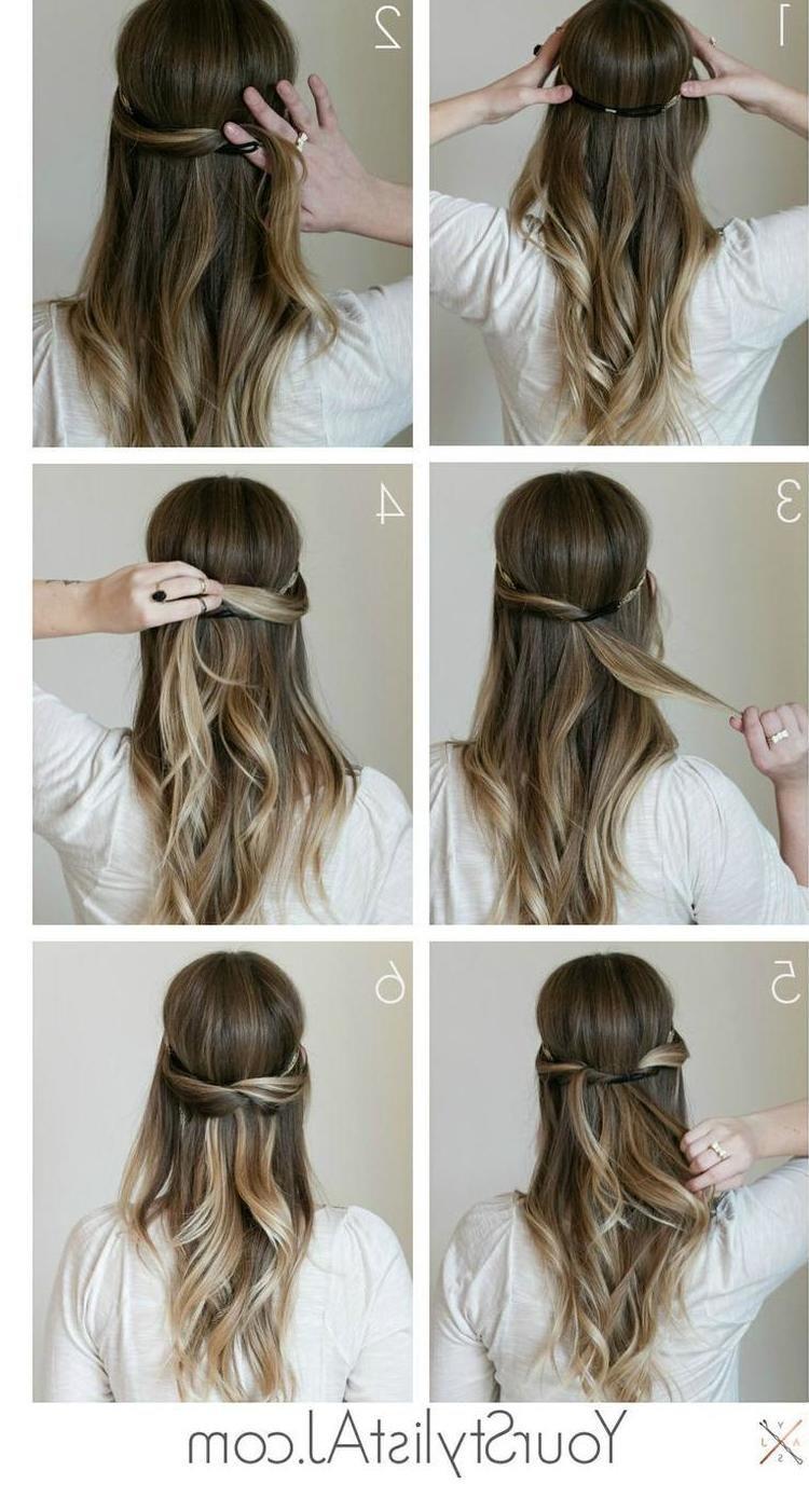 einfache frisuren lange haare   frisuren, geflochtene