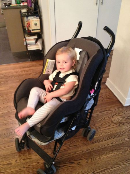 Solo Parent Airport Carseat Stroller Rig