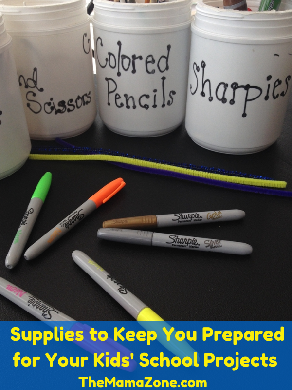 Supplies to Keep You Prepared for School Projects - The MamaZone