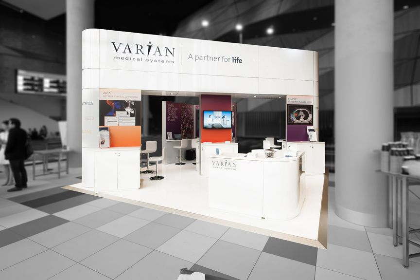 Exhibition Stand Medical : Varian medical systems exhibition stand designed and