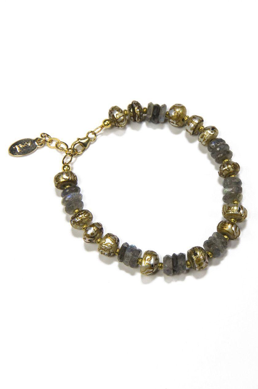 Citta Bracelet with Labradorite