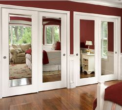French Closet Mirror Doors For Bedrooms
