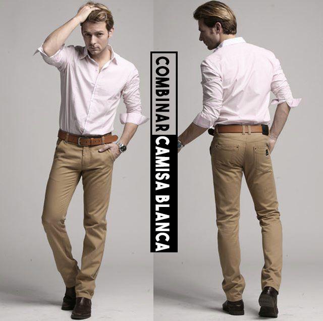 Combinar camisa blanca de hombre outfit para que des una buena impresion y  vistas a la 9036567375e