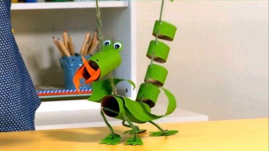 Dragon Marionette Crafts For Kids Puppet Crafts Crafts