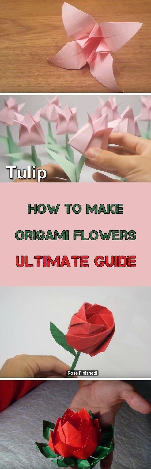 How to make easy origami flowers do it yourself today pinterest how to make easy origami flowers mightylinksfo
