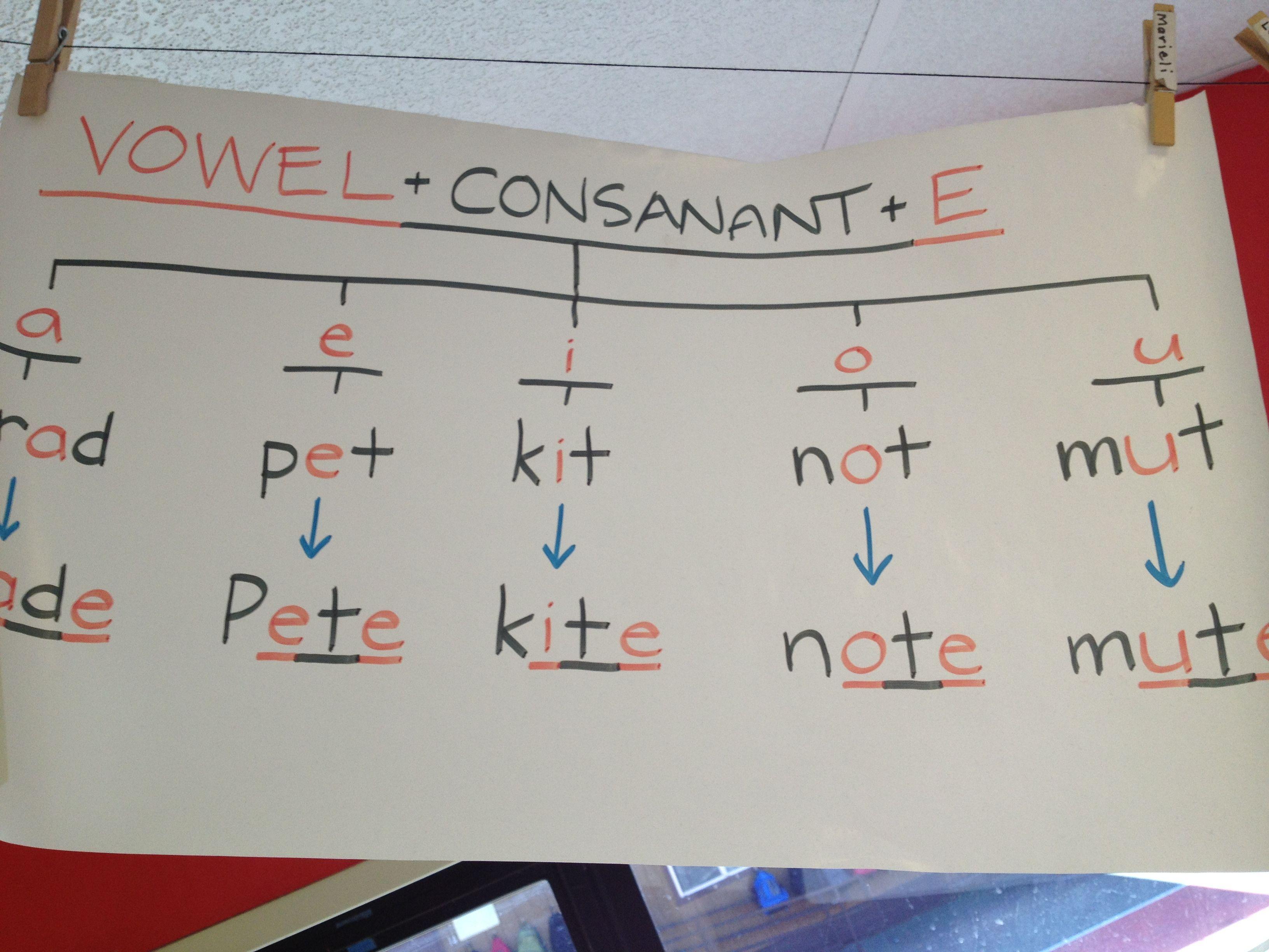 Vowel Consonant E Consonant Is Misspelled On Poster