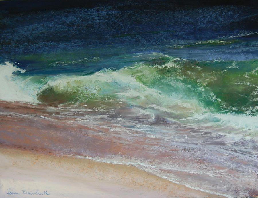 """Jeanne Rosier Smith ~ """"Wauwinet Wave IIi"""" ~ Pastel 2011"""