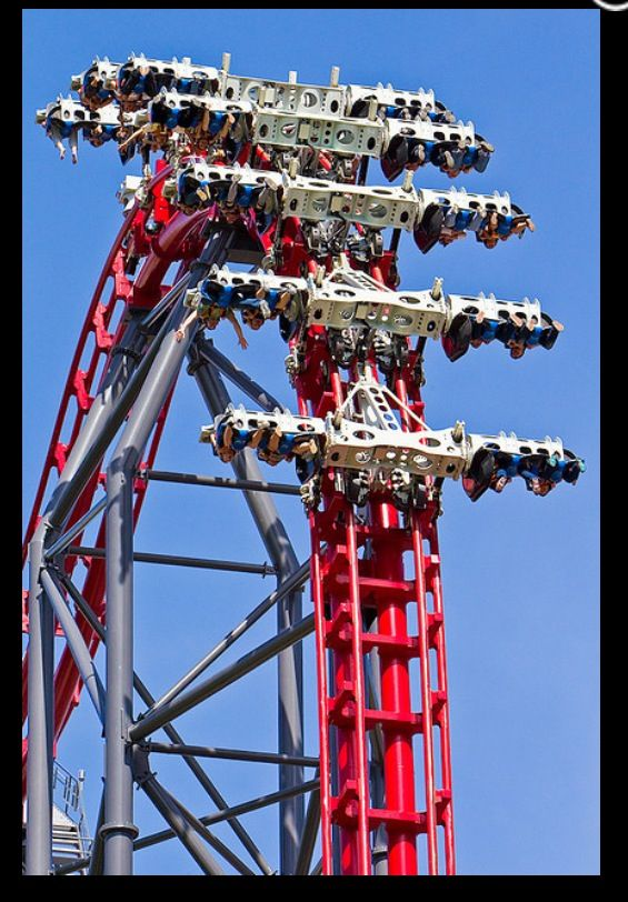 Pin By Marsmac Potter On Roller Coasters And Thrill Rides Best Roller Coasters Scary Roller Coasters Amusement Park Rides