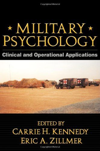 Military Psychology, First Edition: Clinical and Operational Applications by Carrie H. Kennedy http://www.amazon.com/dp/1572307242/ref=cm_sw_r_pi_dp_POLTub0Q74020