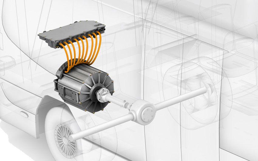 Direct Drive Electric Powertrain Tm4 Electric Car Conversion Electricity Electric Cars