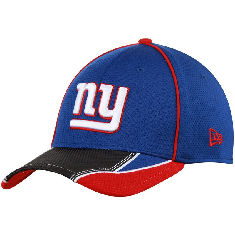 the best attitude c4414 ee7d6 New York Giants New Era Pipe Force 39THIRTY Flex Hat - Royal