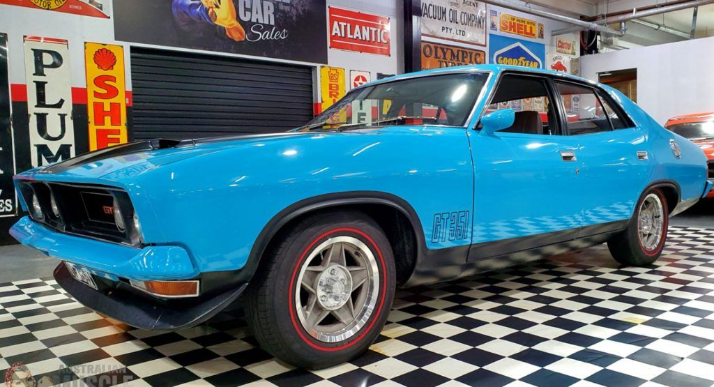 This 1974 Ford Falcon Xb Gt Is An Aussie Classic With Lots Of