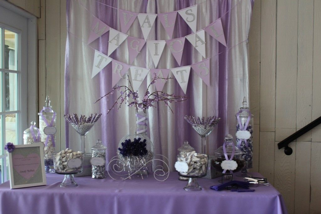 Purple And Turqoise Baby Shower
