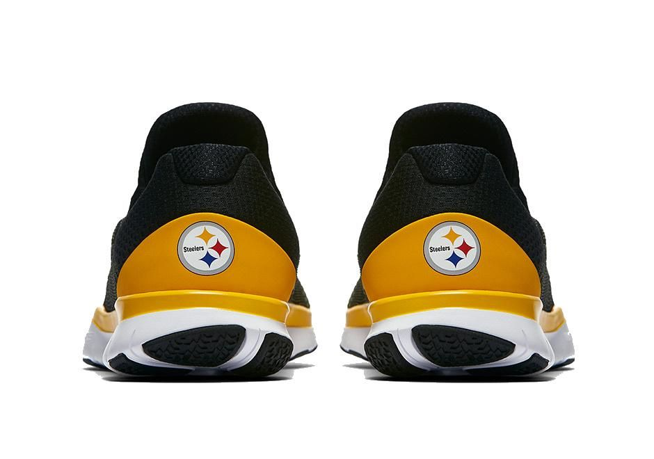 best sneakers 68fd7 d3306 Pittsburgh Steelers Nike NFL Free Trainer V7 Week Zero Shoes ...