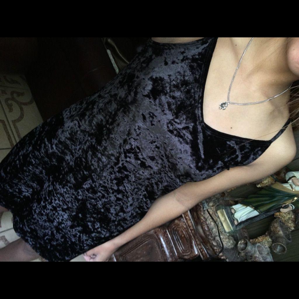 Black velvet dress products