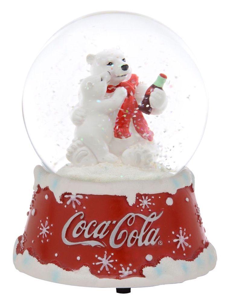 Betty Boop Coca-Cola Mini Ornament Set of 5 by Kurt Adler