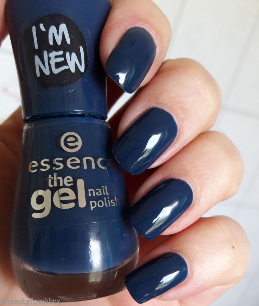 essence the gel nail polish – 78 royal blue #essence #nailpolish #nagellack #dm…