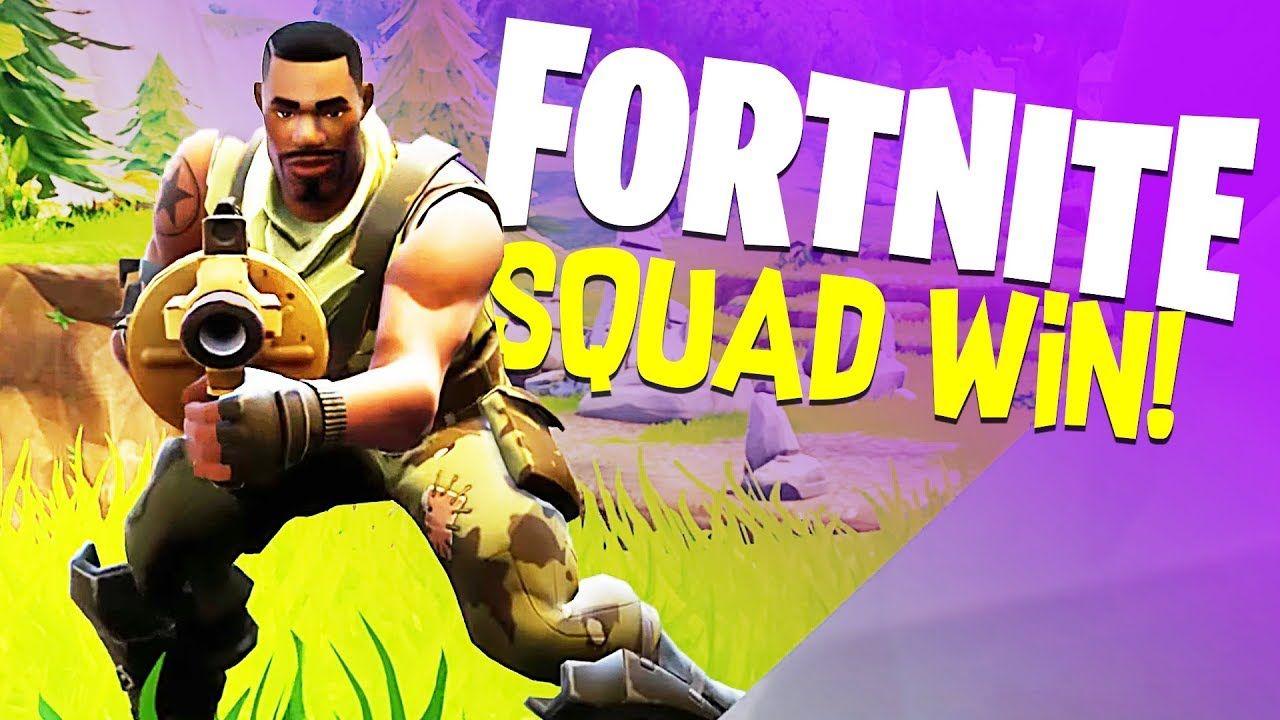 Legendary Squad Domination Fortnite Battle Royale Gameplay