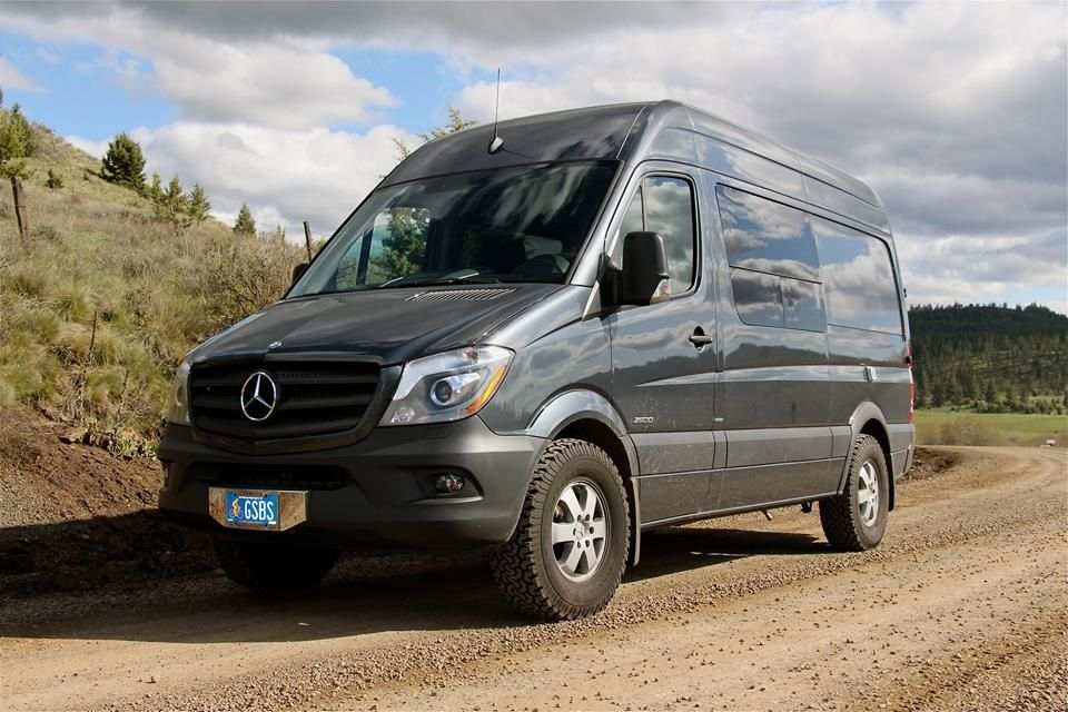 Sprinter With Bfg All Terrain T A In 265 75 16 Tires Which Are