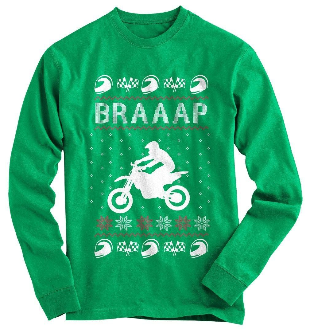Do you love Christmas and dirt bikes? Show everyone your love for the holiday season, with this great shirt.