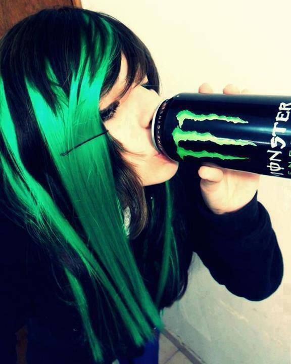 monster energy | Monster energy, Chicas emo, Emo