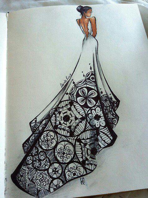 Beautiful<3 | WEDDINGS | Pinterest | Dibujo, Bocetos y Bocetos de moda