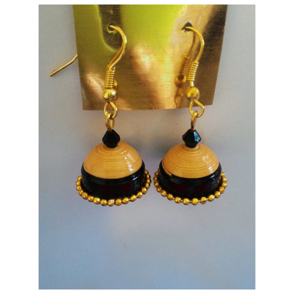 Quilling Earring Online India Jewellery Designer Jhumka And Many More At Beyondgallery
