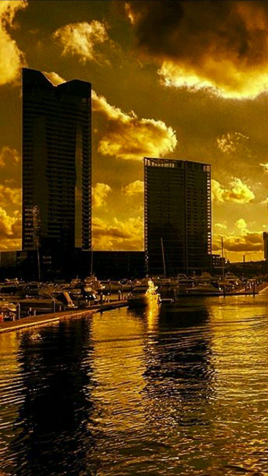 Melbourne Docklands Australien