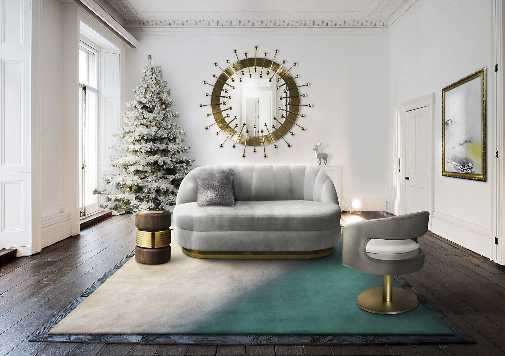Essential Home Sofa Gable | Moderne beistelltische, Dekor ...