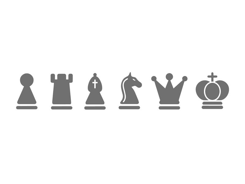 Chess Icons Chess Logo Chess Tattoo Chess