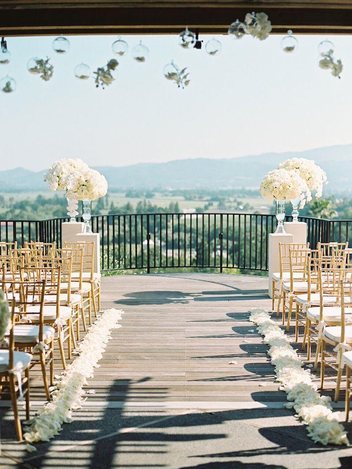 Intimate California Wedding at Napa Valley Resort | Wedding ceremony ...