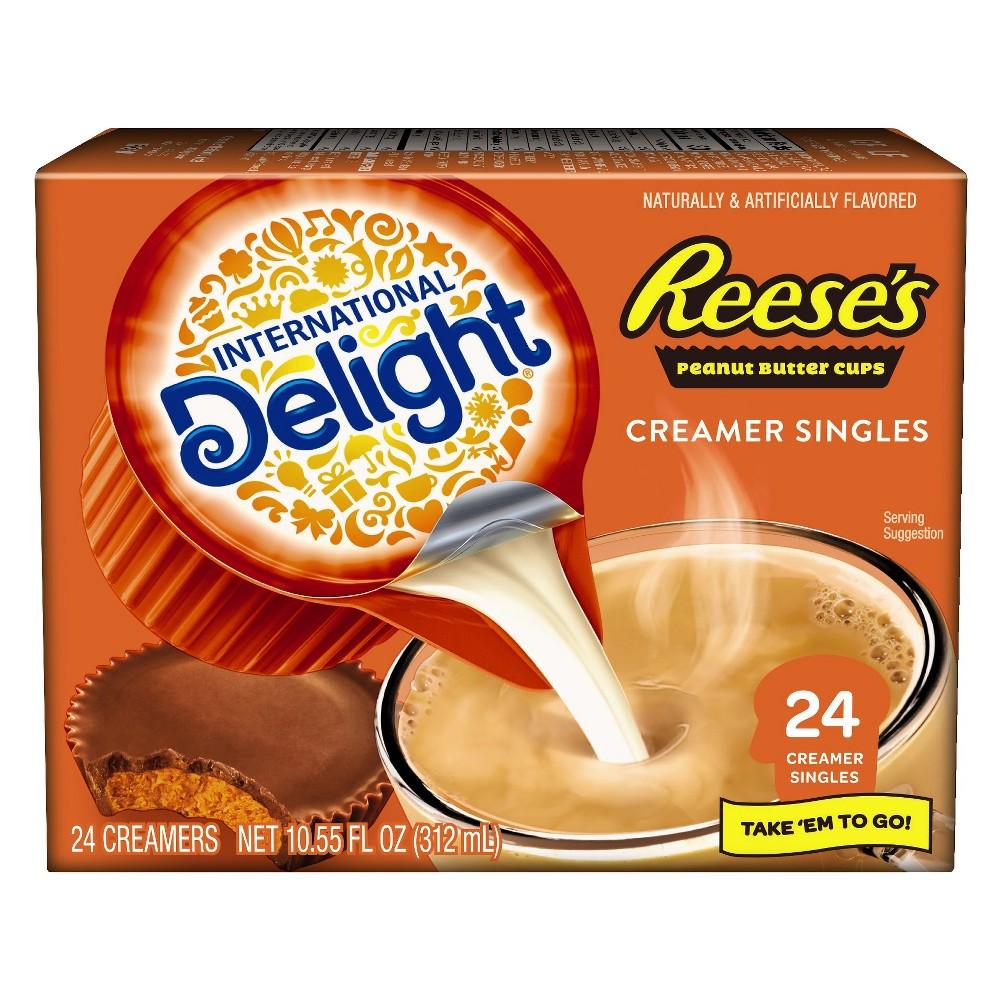 International delight reeces peanut butter cup single